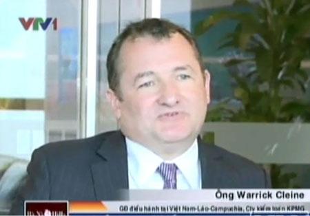 Ông Warick Cleine - Tổng giám đốc KPMG Việt Nam