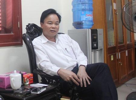 Ông Tiên Văn Hồng - Chủ tịch huyện Kinh Môn cho biết huyện Kinh Môn chưa phải xử lý,