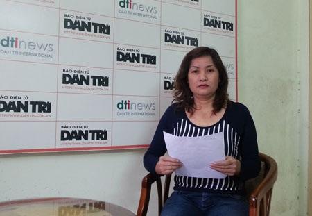 Bà Thường chờ đợi Tòa án thị xã Từ Sơn đưa ra bản án công tâm vàkhách quan