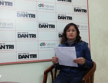 Bà Thường cho rằng Tòa án thị xã Từ Sơn cố ý câu giờ gây thiệt hại cho công dân