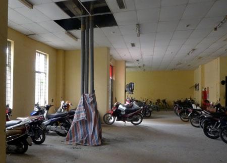 N9 nằm trong số những tòa nhà được khắc phục đầu tiên ở khu Đồng Tàu
