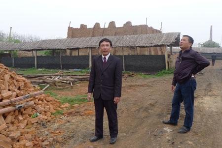 Những lò gạch thủ công UBND huyện khẳng định đã dừng hoạt động từ tháng 6/2013