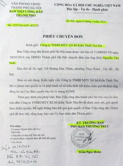 Văn bản của UBND TP Hà Nội yêu cầu kiểm tra, làm rõ nghi án