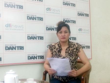 Bà Lê Thị Thường đã nhiều lần gửi đơn kêu cứu đến báo Dân trí