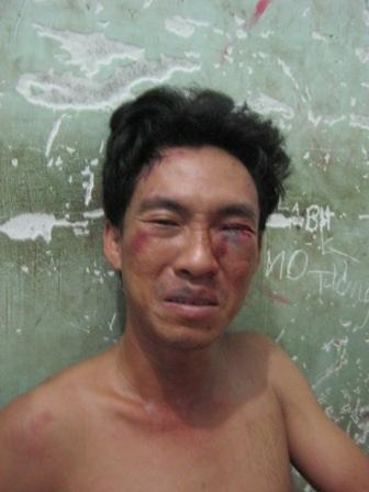 Nguyễn Minh Tú tại cơ quan công an
