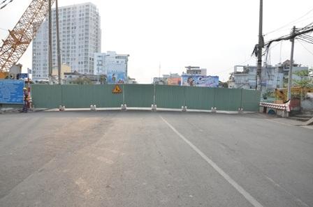 Cầu Kiệu đã chính thức được đóng cửa vào lúc 6h sáng nay