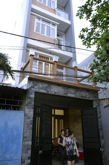 Căn nhà xảy ra vụ trộm