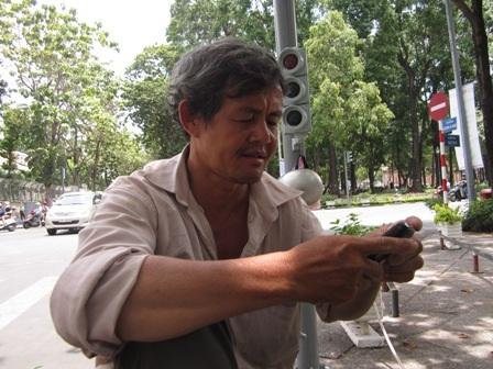 Ông Nguyễn Văn Bảo, người hỗ trợ đưa sản phụ đi cấp cứu