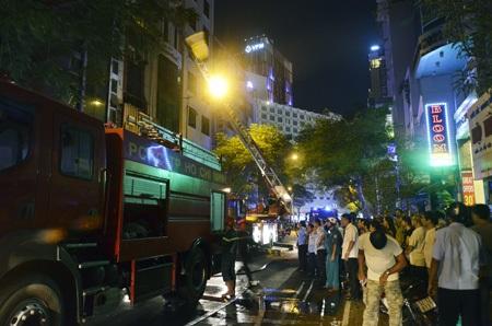 Trong vòng 3 ngày cuối tháng 3, TPHCM liên tiếp xảy ra các vụ cháy