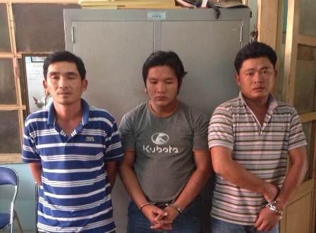 3 tài xế cầm đầu trong đường dây rút ruột container