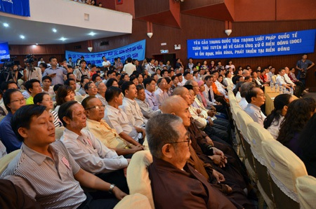 Mít tinh do Hội luật gia TPHCM tổ chức