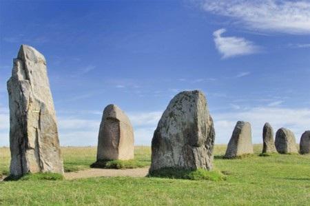 Cấu trúc đài tưởng niệm bằng đá tại tại Thụy Điển