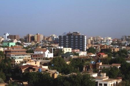 Một góc thủ đô Khartoum của Sudan