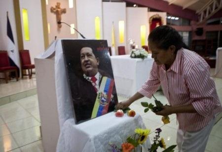 Nhiều người Venezuela đang cầu nguyện cho ông Chavez