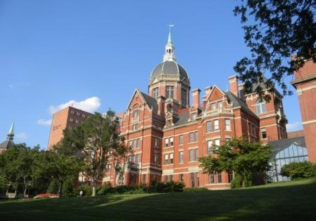Một góc đại học Johns Hopkins