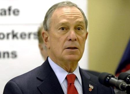 Tỷ phú Bloomberg nổi tiếng với các hoạt động từ thiện