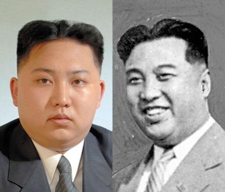 Ông Kim Jong-un để kiểu tóc giống ông nội Kim Nhật Thành.