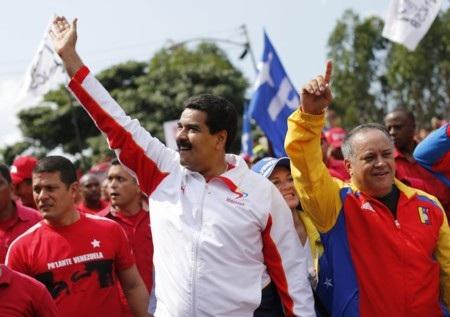 Phó tổng thống Venezuela Nicolas Maduro