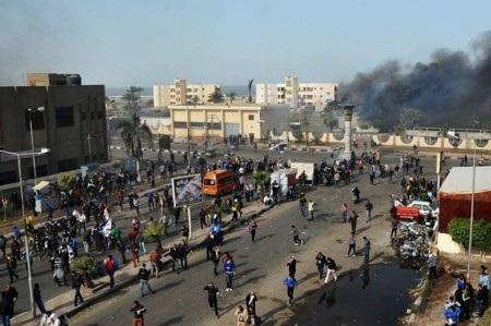 Bạo loạn và bất ổn lại đe dọa Ai Cập