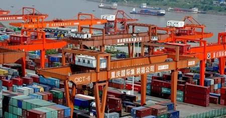 Trung Quốc đã vượt Mỹ về kim ngạch thương mại toàn cầu