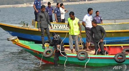 Lực lượng cứu hộ đã đưa được 14 thi thể lên từ chiếc phà chìm