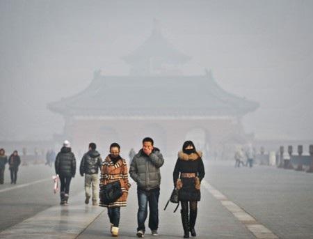 Tình trạng ô nhiễm tại Bắc Kinh rất trầm trọng