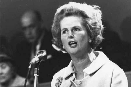 Bà Thatcher nổi tiếng là người tài năng và cứng rắn