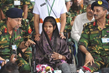Reshma Begum đã sống sót nhờ 4 gói bánh quy