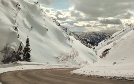 Có rất nhiều vị trí có thể trượt tuyết