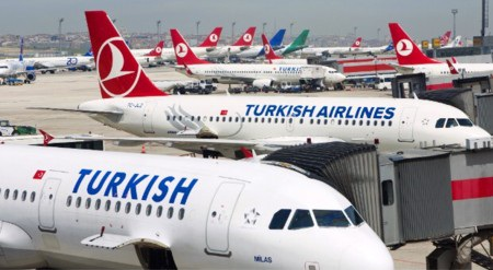9. Turkish Airlines (thứ hạng 2012: 7)