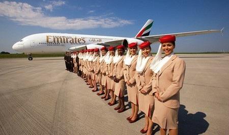 Emirates đã có bước thăng tiến mạnh mẽ so với năm ngoái