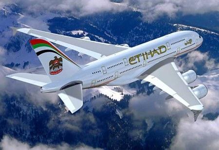 7. Etihad Airways (thứ hạng 2012: 6)