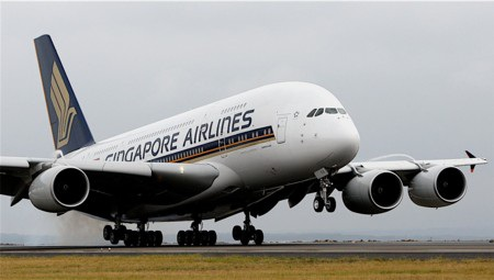 3. Singapore Airlines (thứ hạng 2012: 3)