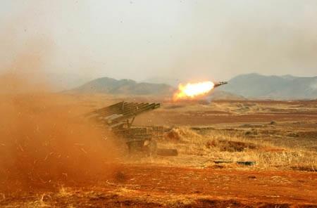 Triều Tiên được cho là sở hữu 5100 thiết bị phóng nhiều tên lửa cùng lúc