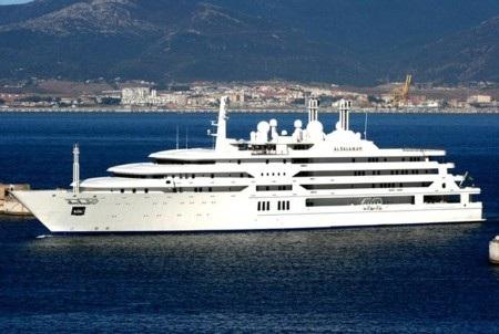 Đại gia vùng Vịnh độc chiếm top các du thuyền lớn nhất thế giới