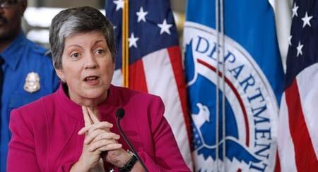 Bà Janet Napolitano đã quyết định từ chức