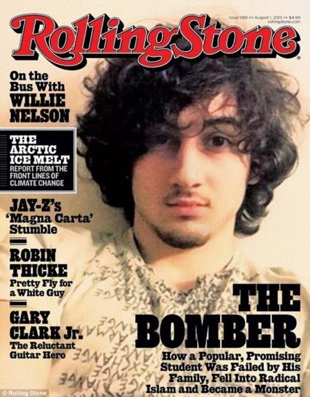 Trang bìa của Rolling Stone bị cho là phản cảm