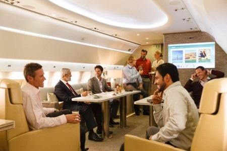 Nhưng khi được Emirates thiết kế lại sẽ chỉ dành cho 19 người