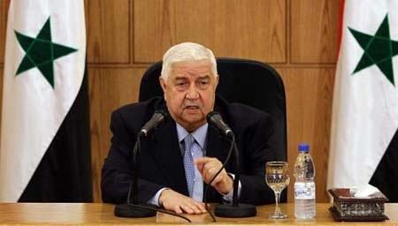 Bộ trưởng ngoại giao Syria Walid Muallem