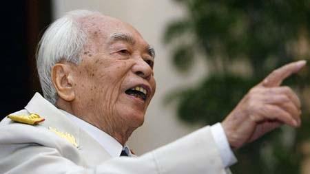 Đại tướng Võ Nguyên Giáp được người dân khắp thế giới kính trọng