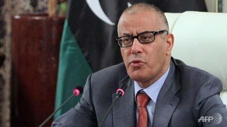 Thủ tướng Libya Ali Zeidan.