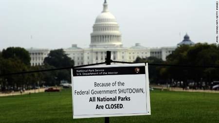 Chính phủ Mỹ vẫn đang đóng cửa vì thiếu ngân sách