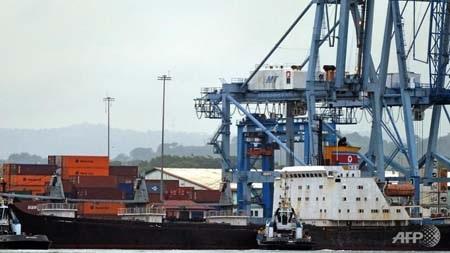 Tàu hàng của Triều Tiên bị bắt giữ tại Panama