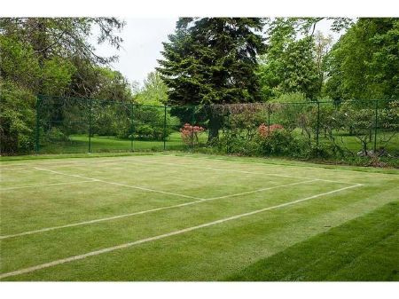Sân tennis bằng cỏ dành cho những ai đam mê thể thao