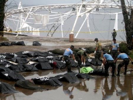 Số người chết tại Philippines đã vượt 3600 người
