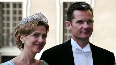 Công chúa Tây Ban Nha Infanta Cristina và chồng