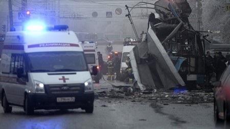 Chiếc xe điện bị phá hủy hoàn toàn sau vụ nổ