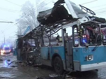Chiếc xe điện hoàn toàn nát vụn sau vụ nổ