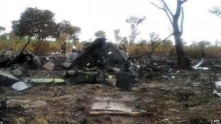 Chiếc máy bay bị rơi tại Namibia khiến 33 người thiệt mạng