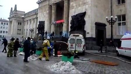 Lực lượng cứu hỏa và cấp cứu tại hiện trường